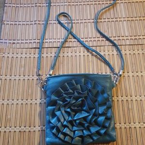 Handbags - 🔔SOLD!!Teal Leather Purse